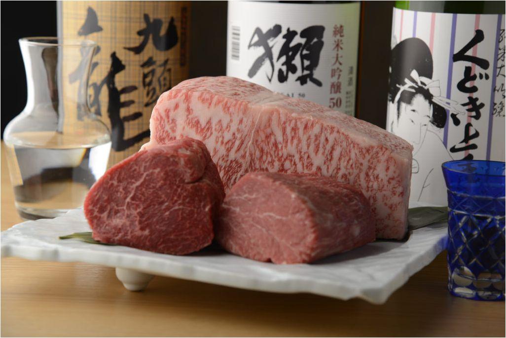 東京鉄板焼き, A5ランク国産和牛