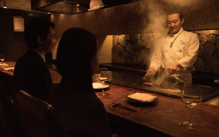 お客様の声, 鉄板焼きレストラン